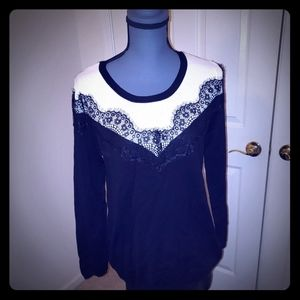 Lane Bryant Laced Trimmed Sweater